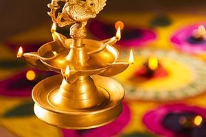 Diwali Lamp Festival Worship Ligting Hindu Spiritu