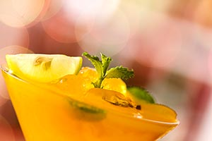 Refreshing Mocktail Drinks Recipes Party Close-Up